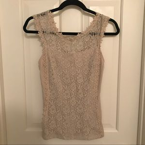 Express Lace tank top- Size XS